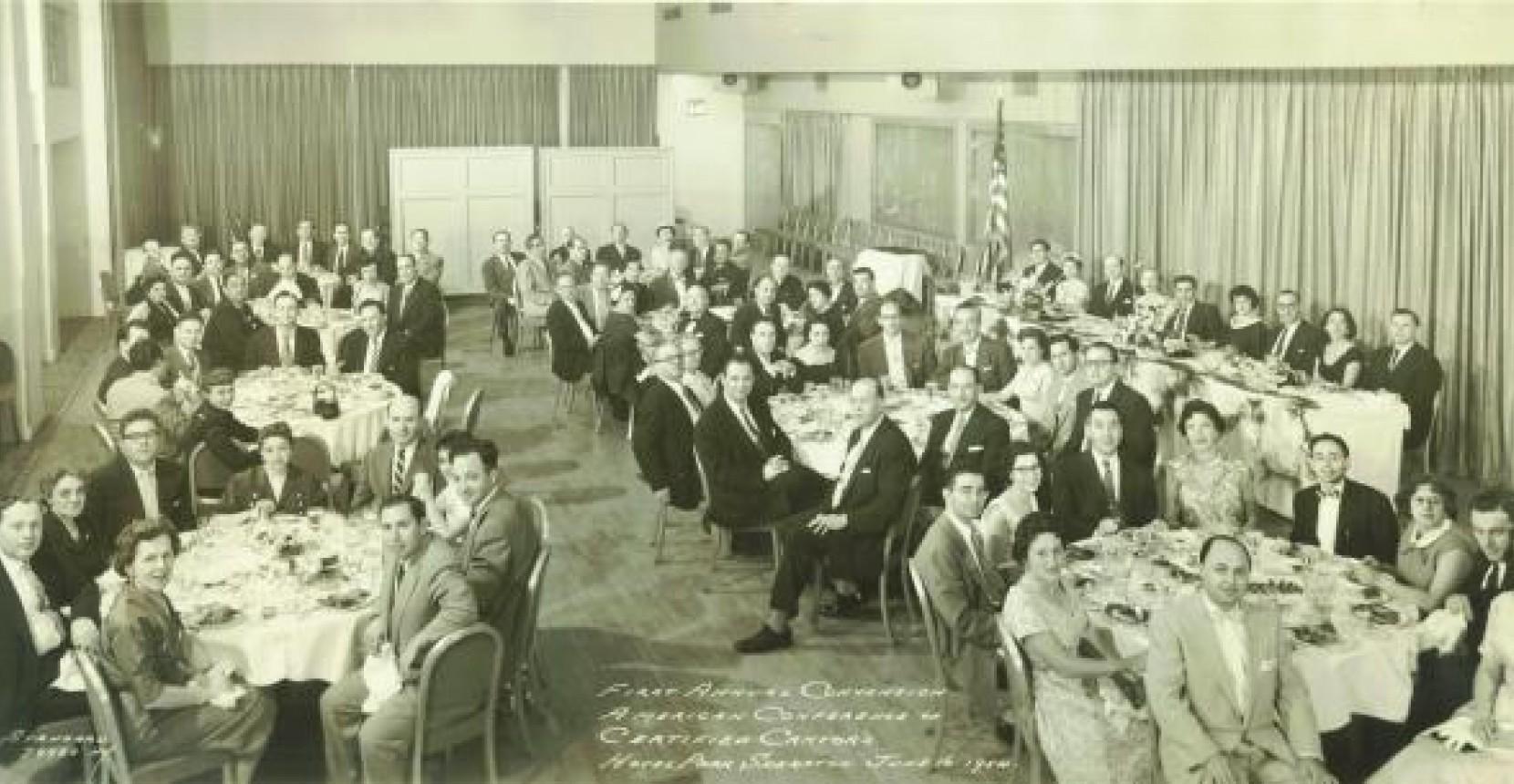 First ACC Convention Banquet