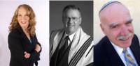 Cantors Florence Friedman, Neil Newman and Sam Radwine